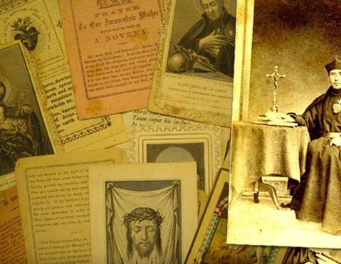 Devotieprentjes van Pater Karel
