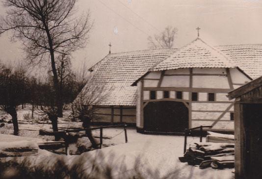 De molenaarswoning ingericht als kapel